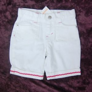 NWT Gymboree Bbygirl White & Pink Chevron Shorts 5